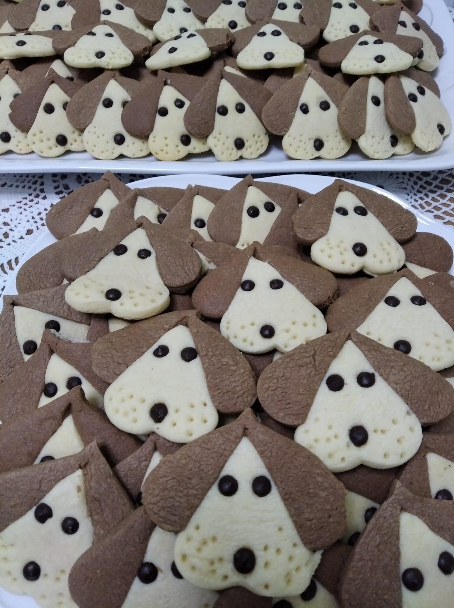 Μπισκότα -βουτύρου -σκυλάκια-