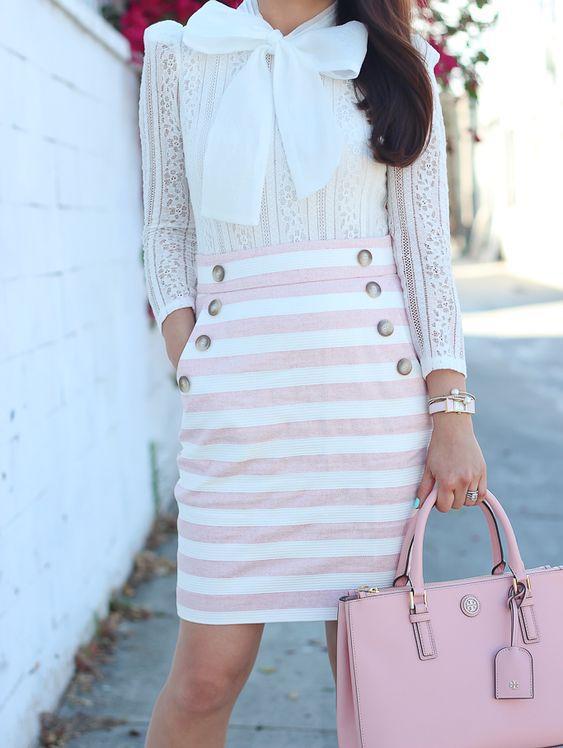 φόρεμα_με_ροζ_sailor stripes_
