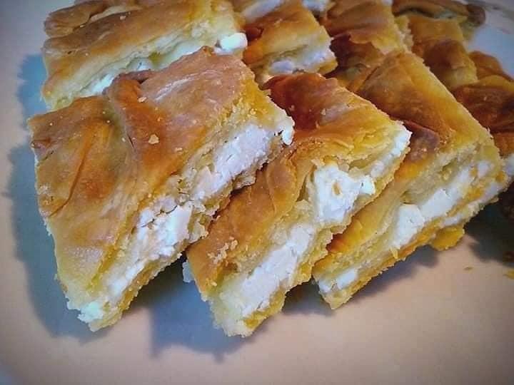 Παραδοσιακή- χωριάτικη -τυρόπιτα-