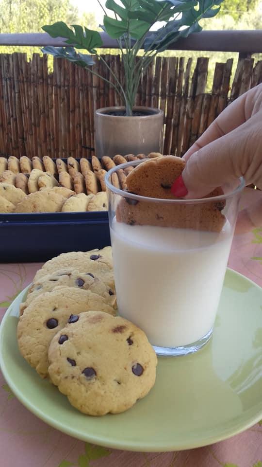 Cookies -πορτοκαλιού-με-σταγόνες-σοκολάτας-