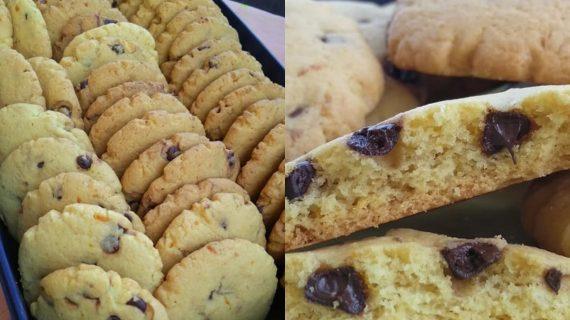 Cookies- πορτοκαλιού- με- σταγόνες- σοκολάτας-