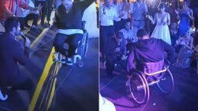 Το  βίντεο που ανέβασε ό Γιώργος Τσαλίκης με το Ζεϊμπέκικο του αστυνομικού σε αμαξίδιο μας καθήλωσε