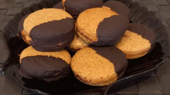 Γεμιστά-μπισκότα-ολικής άλεσης-