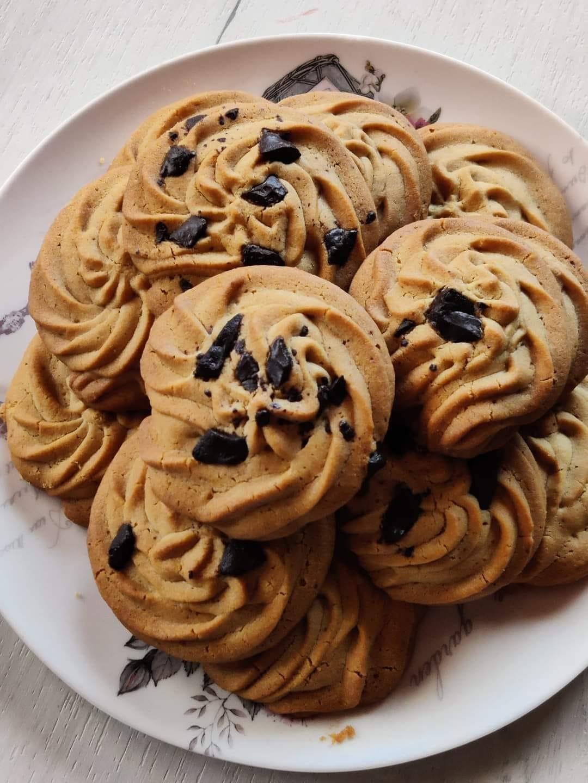 Μπισκότα-βουτύρου-με-ζάχαρη-καρύδας-συνταγή-