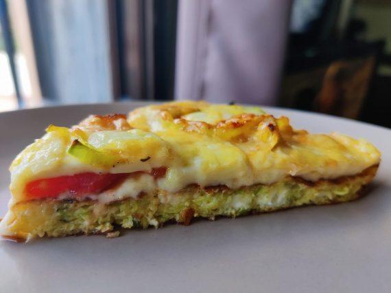 Πίτσα αλλιώτικη χωρίς αλεύρι