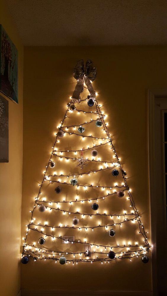 χριστουγεννιάτικα δέντρα-με-φωτάκια LED-