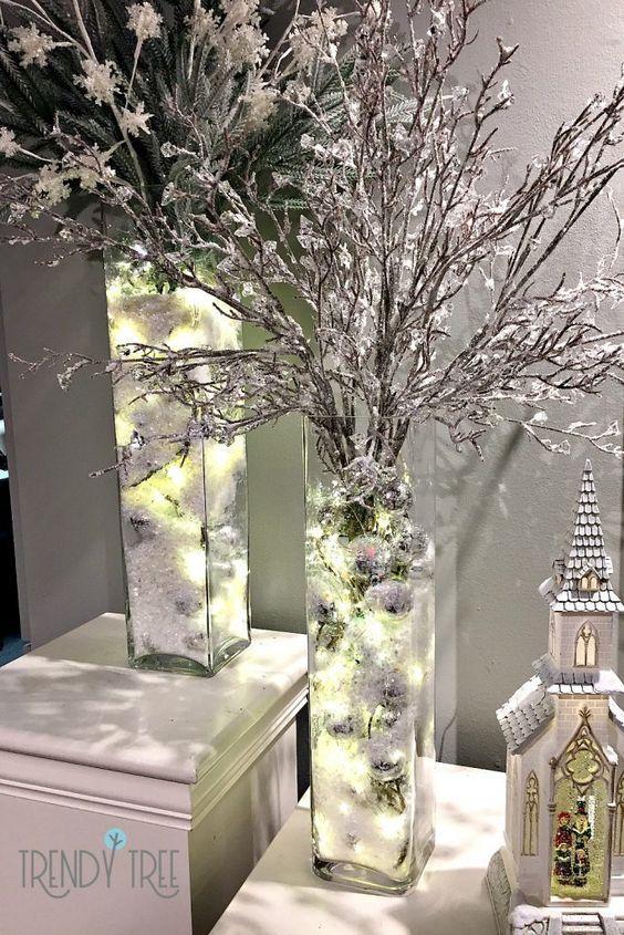 ιδέες-για-χριστουγεννιάτικη-διακόσμηση-σε-ασημί-χρώμα-