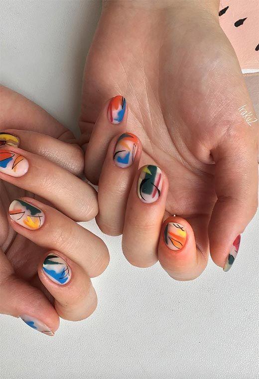 Νύχια Οκτωβρίου: Ιδέες για μανικιούρ στα χρώματα & στα σχέδια