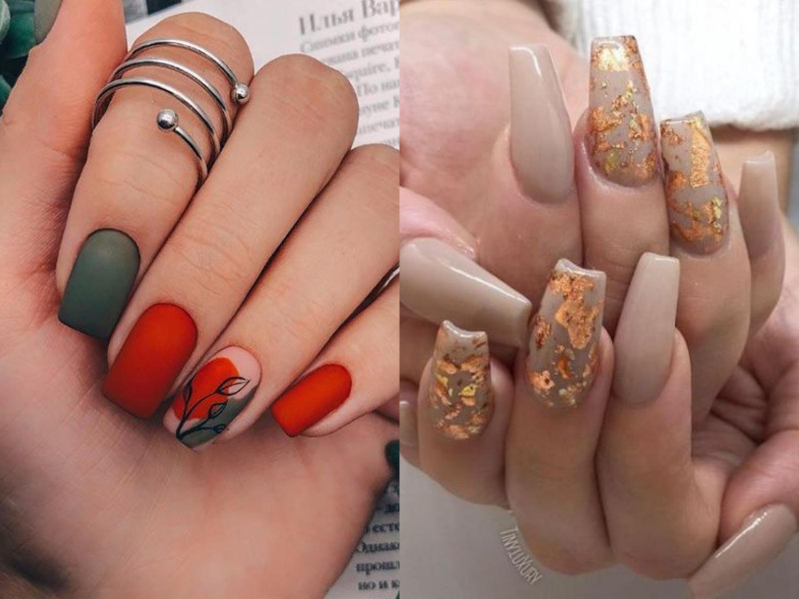 ιδέες-για-νύχια-τον-Οκτώβριο-μανικιούρ-