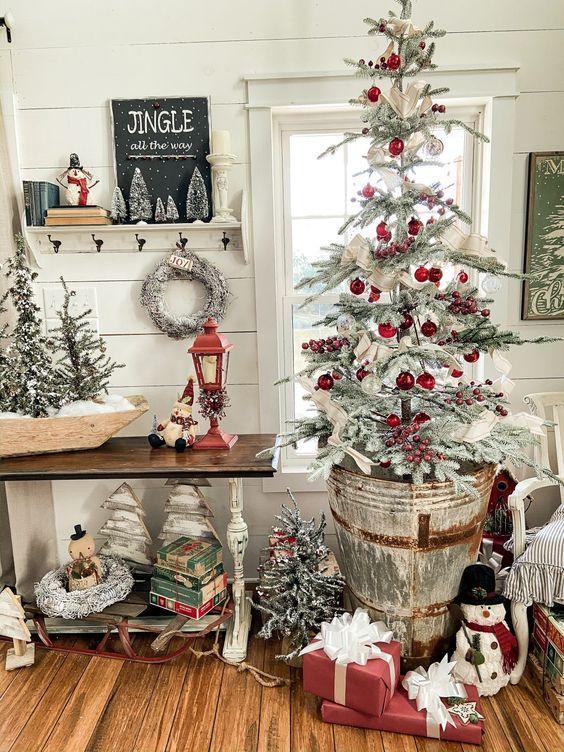 ασύμμετρο-χριστουγεννιάτικο δέντρο-στις-τάσεις-2021 2022-