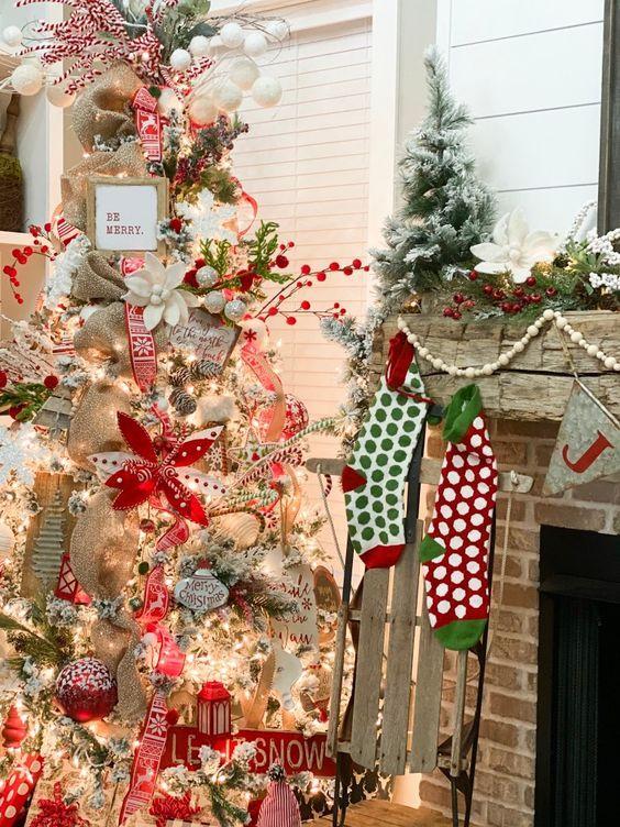 χριστουγεννιάτικες τάσεις-2021 2022-ασύμμετρο-χριστουγεννιάτικο-δέντρο-