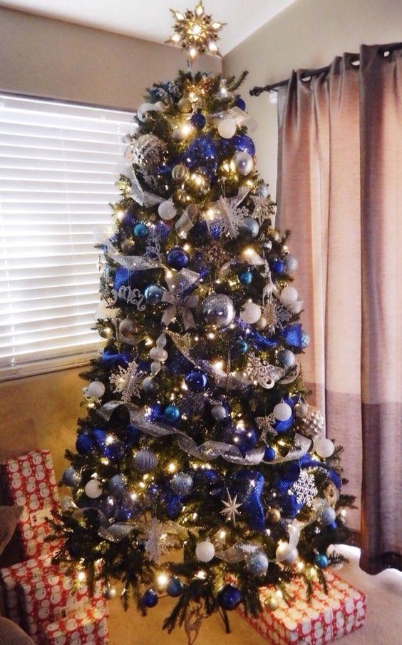 μπλε-χριστουγεννιάτικες-κορδέλες-τάσεις-2021 2022-