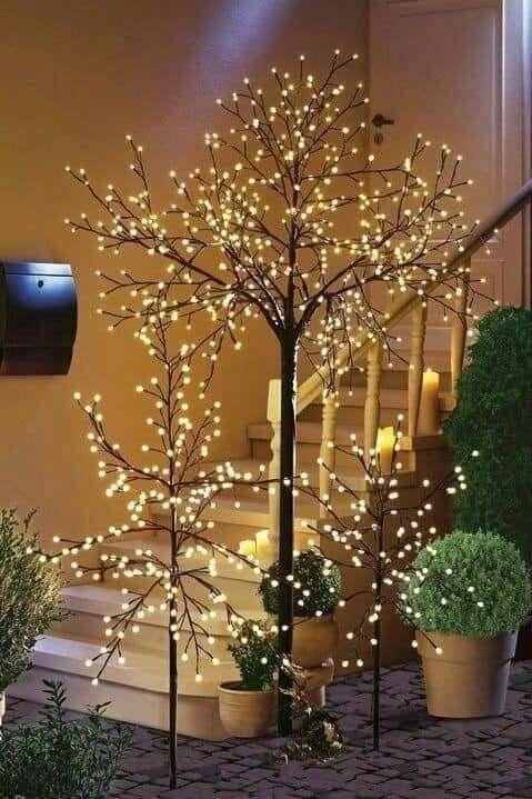 χριστουγεννιάτικα δέντρα-με-φωτάκια LED-τάσεις-