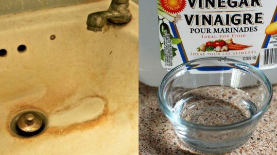 Θαυματουργό clean tip: Καθαρίστε την σκουριά με ξύδι
