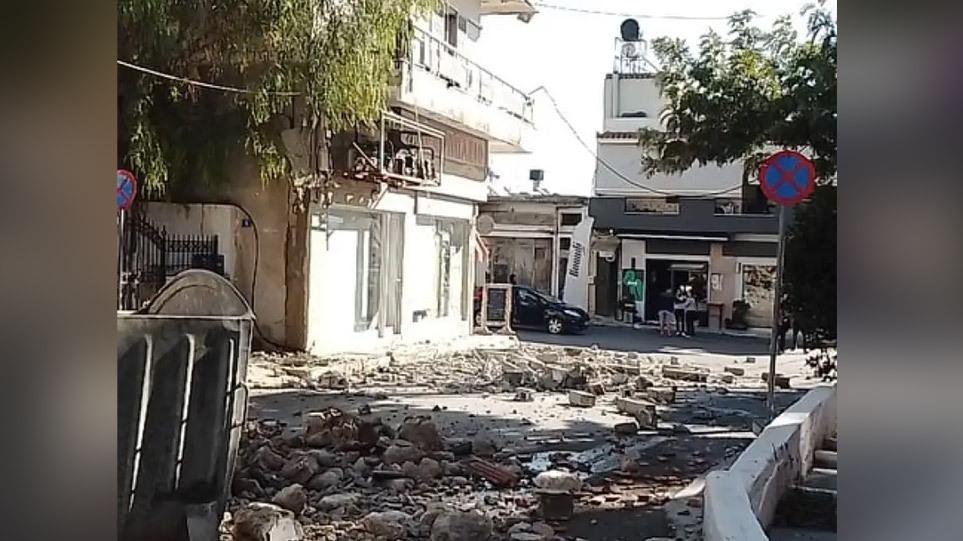 Η γη τραντάχτηκε από τον σεισμό στην Κρήτη: Βίντεο που κόβουν την ανάσα