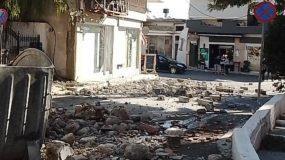 Σεισμος στην Κρήτη : Οι πρώτες φωτογραφίες