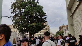 Ξύλο και επεισόδια έξω από σχολείο  – Έχουν τραυματιστεί φοιτητές