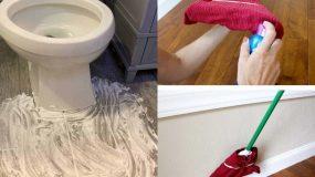 Θέλετε το σπίτι σας να λάμπει; 17 τρόποι για καθαρό σπίτι από άκρη σε άκρη