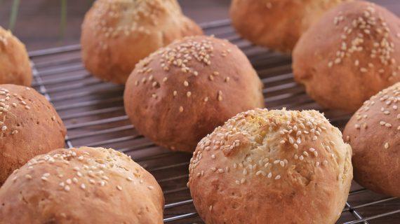 Αφράτα Και  Εύκολα Ψωμάκια χωρίς μαγιά από το Live kitchen