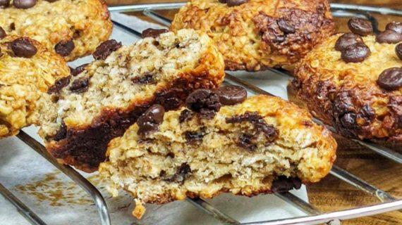 Cookies-βρώμης-χωρίς ζάχαρη-