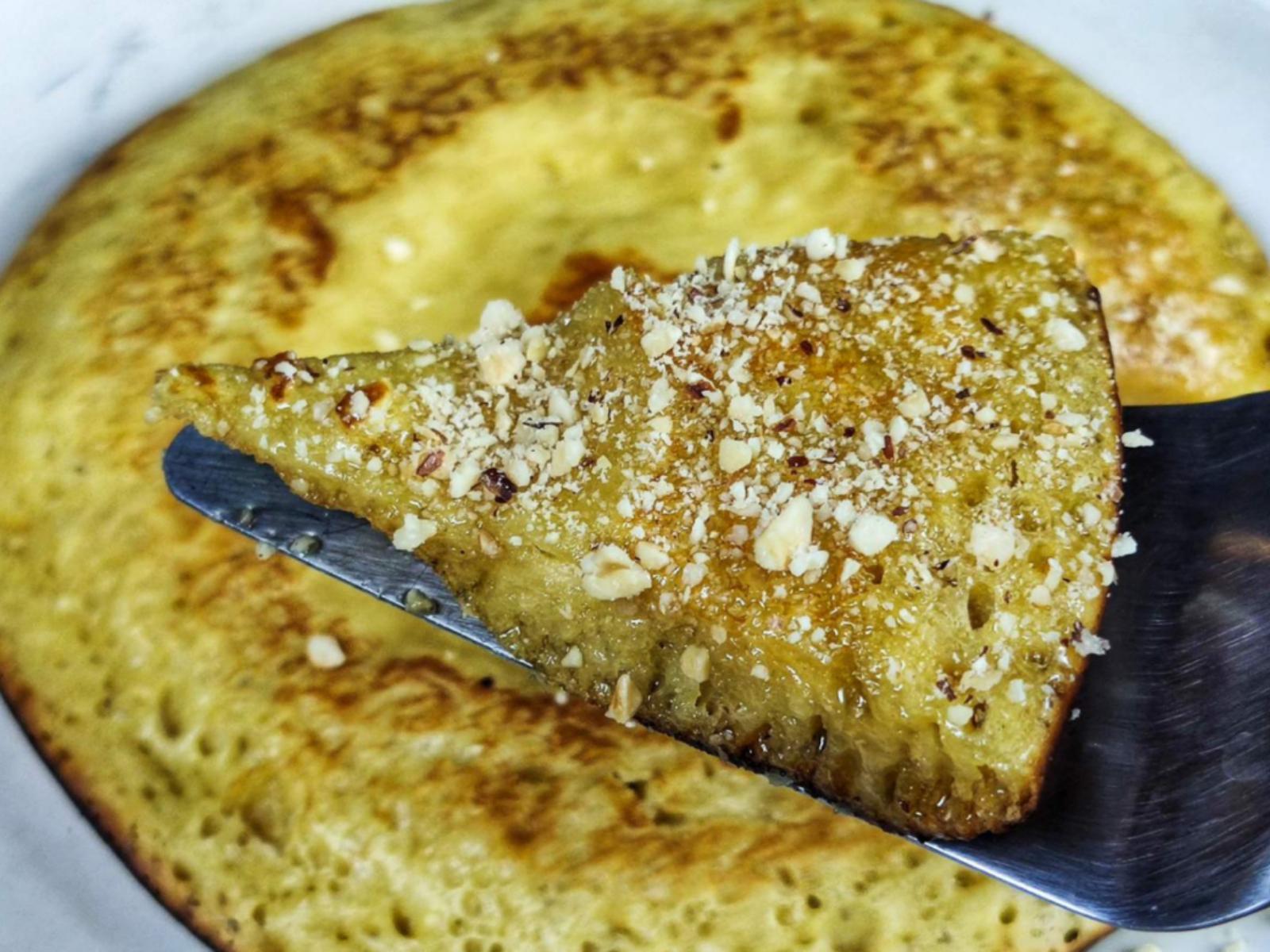 Pancake- χωρίς -ζάχαρη-