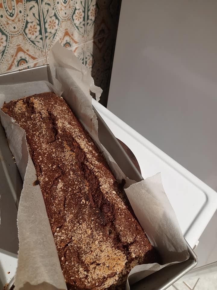 Υγιεινό-banana bread-χωρίς ζάχαρη-συνταγή-