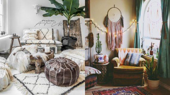 Boho διακόσμηση στο σπίτι: 40 μοντέρνες ιδέες