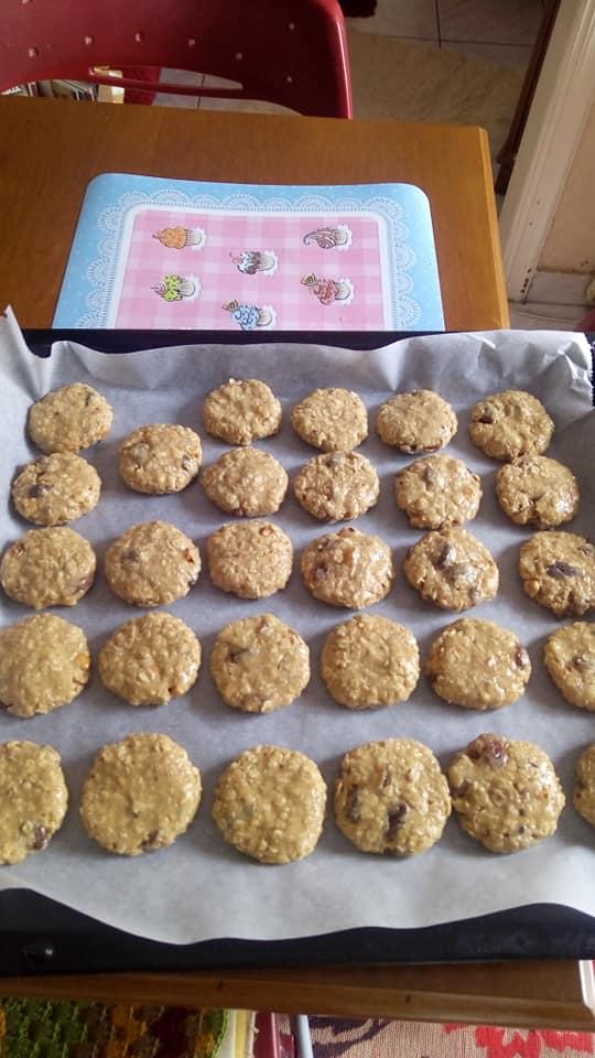Μπισκότα -με -ταχίνι- χωρίς- ζάχαρη-