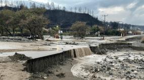 Μεγάλες καταστροφές στην Εύβοια: Η περιοχή έχει μετατραπεί σε ποτάμι.(Video)