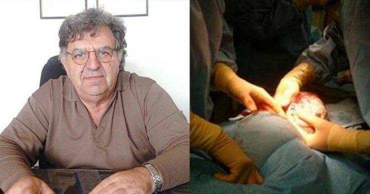 Συγκλονιστικό: Έλληνας γιατρός έπαθε έμφραγμα την ώρα της γέννας αλλά συνέχισε για να σώσει τη ζωή του μωρού