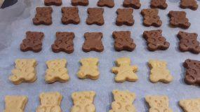 Μπισκότα αρκουδάκια με μέλι χωρίς ζάχαρη