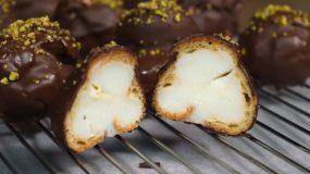 Σοκολατάκια Προφιτερόλ από το Live Kitchen (βίντεο)