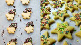 Χριστουγεννιάτικα- μπισκότα -χωρίς- ζάχαρη-