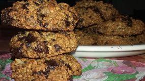 Μπισκότα- βρώμης- με- κράνμπερι- χωρίς- ζάχαρη-