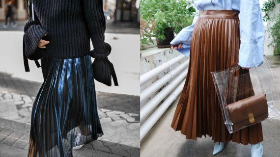 Πλισέ φούστες: 15 ιδέες με την νέα τάση στις φούστες για τον Χειμώνα 2021-2022